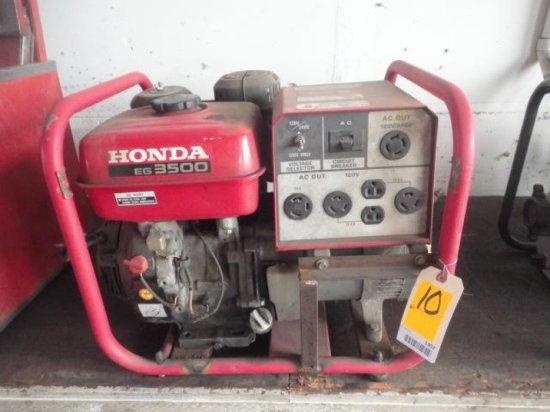 HONDA EG3500 GAS GENERATOR