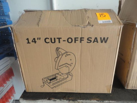 14'' METAL CUT-OFF SAW (NEW IN THE BOX)