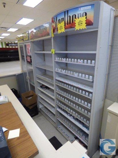 Cigarette merchandise cases