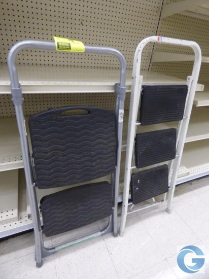 Assorted step stools