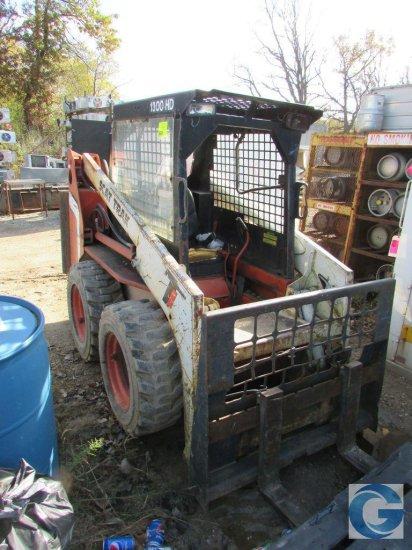 Trak Scat Truk 1300HD diesel skid steer with 3278-hrs.