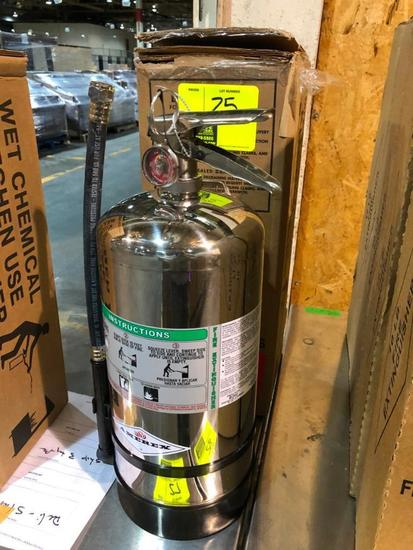 6-liter wet chemical fire extinguisher