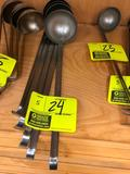 6-ounce stainless steel ladles