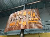 Produce sign (Approx. 10' x 8')
