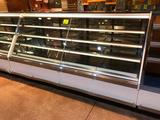 8' Structural Concepts Encore HVK96.4027 dry bakery service case with slant glass