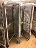 Aluminum/stainless steel Z-channel racks with cover