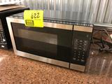 Stainless steel front microwave