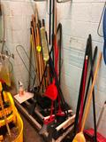 Quantity cleaning tools and hose