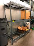8' section of Madix warehouse racking with metal deck and 5