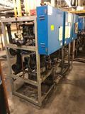 Hillphoenix PS34SLRAC (ser #38408-2) low temp compressor rack, R404A 208v with (3) Copeland pumps