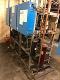 Hillphoenix PS34SLRAC (ser #38408-1) low temp compressor rack, R404A 208v with (3) Copeland pumps