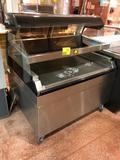 Alto Shaam ED2-482S, '2011, 2-tier pass-thru hot food merchandiser