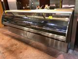 12' Barker (ser #166494SSD12R), '2012 deli service case with curved glass and glycol (remote)