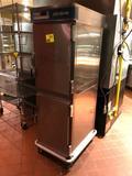 Alto Shaam 1200-TH/III (ser #487049-000) stainless steel split-door holding cabinet