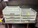 Poly dish racks