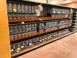 4' sections of bulk merchandiser shelving