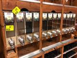 Coffee bean bulk bins