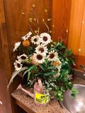 Faux floral d?cor