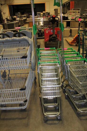 Child shopping carts