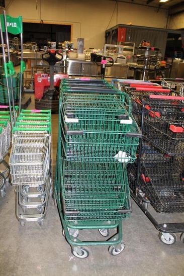 2-tier shopping carts