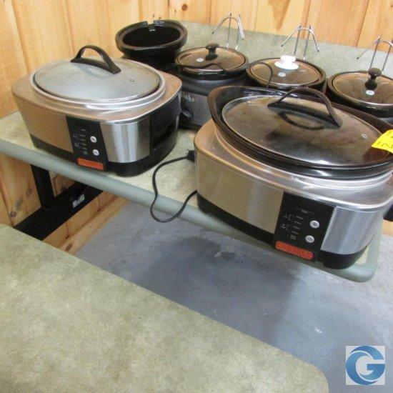 Crock Pot slow cookers