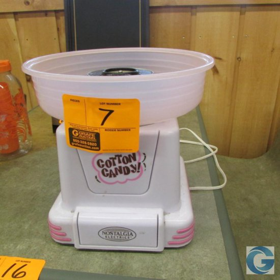 Nostalgia cotton candy machine