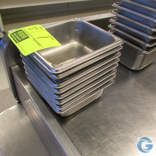 """6"""" x 7"""" x 2"""" Stainless steel insert pans"""