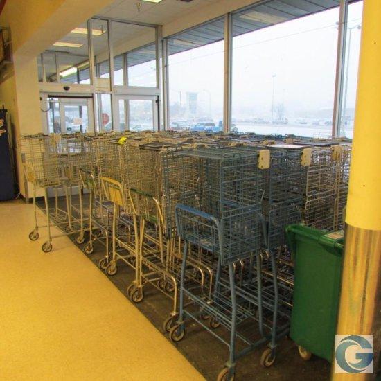 Tech Bilt OTC grocery carts