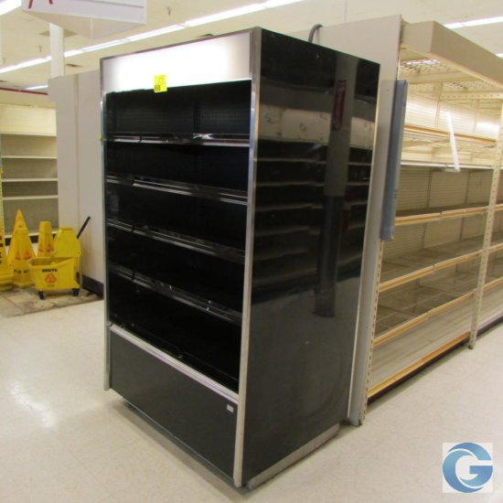 4' Barker (000328754735) self-contained refrigerated multi-deck case