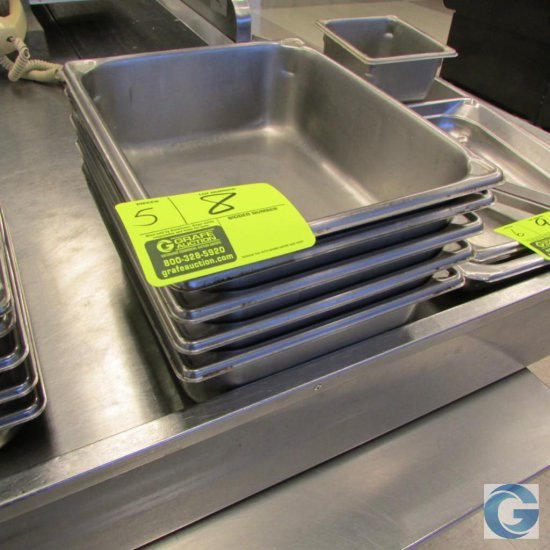 """10"""" x 13"""" x 4"""" Stainless steel insert pans"""