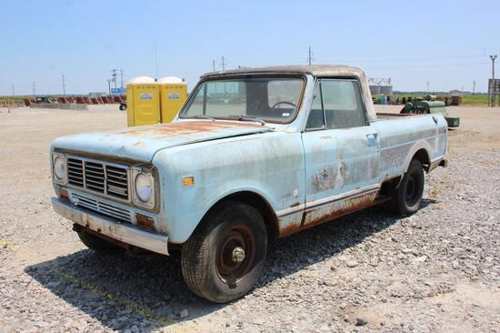 1976 International Scout Traveler 4x4 Pickup | Collector