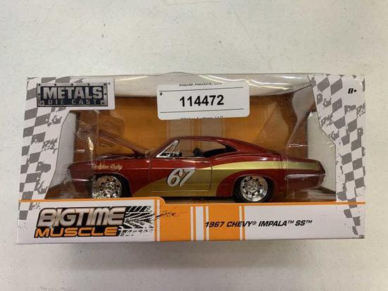 Unused 1967 Toy Chevy Impala