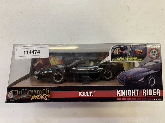 Unused K.I.T.T. Knight Rider Toy Car