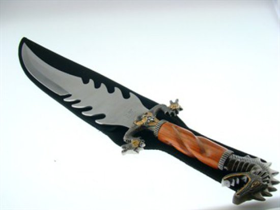 DRAGON CUSTOM FANTASY KNIFE 27 1/2