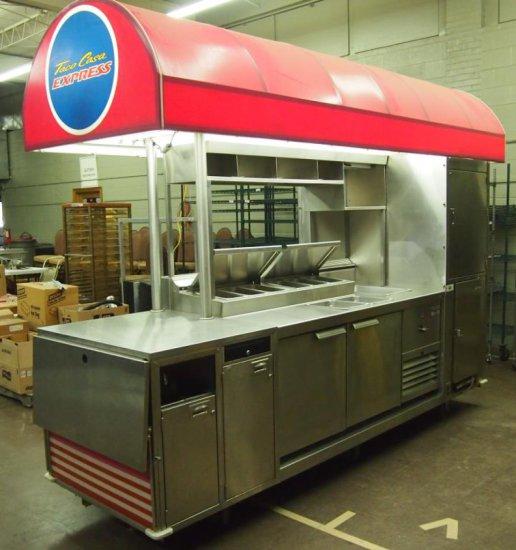 Custom food cart, like NEW