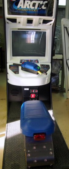 Arctic Thunder upright arcade game