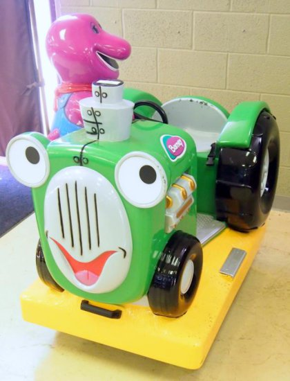 Jolly Roger - Barney's Tractor