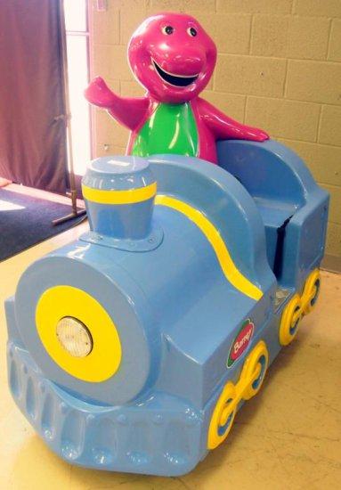 Fun2Learn Children's Rides - Barney Train