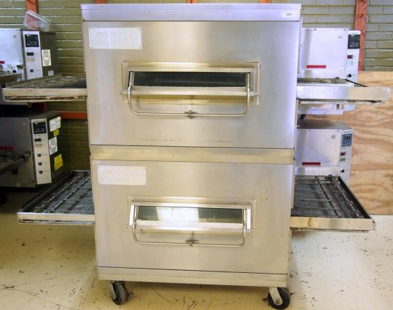 Middleby Marshall Double Conveyor Oven