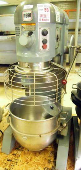 Hobart P660 60qt mixer