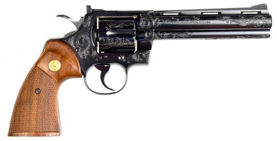Colt Engraved Python .357 Mag