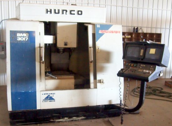 Hunco Vertical CNC Milling Machine