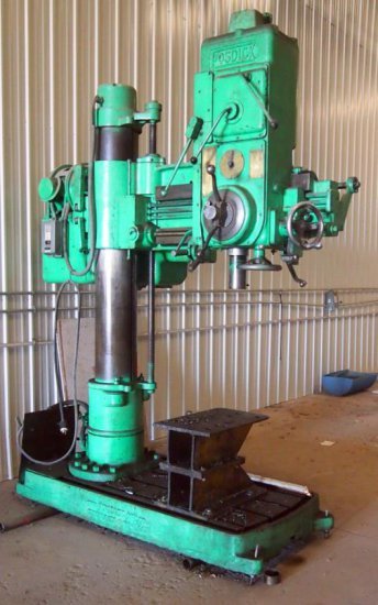 Fosdick radial arm drill press