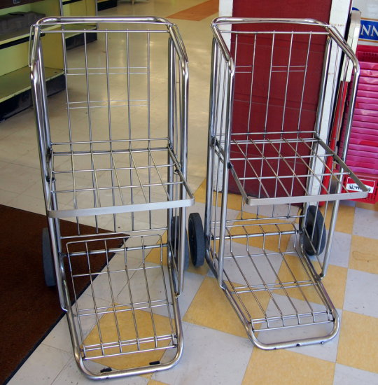 2 wheel carry out carts