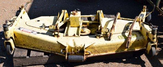 "John Deere 3 point 60"" Hydro Cut mower deck"