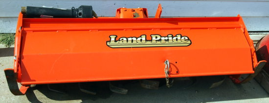 Land Pride 3pt Tiller