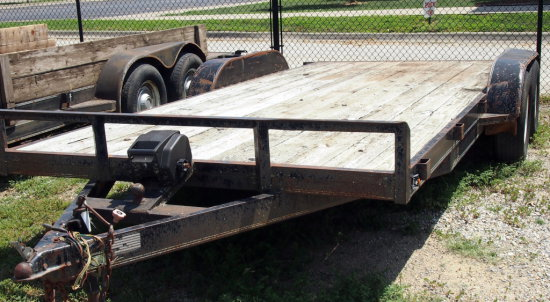 18' Neal tandem axel trailer