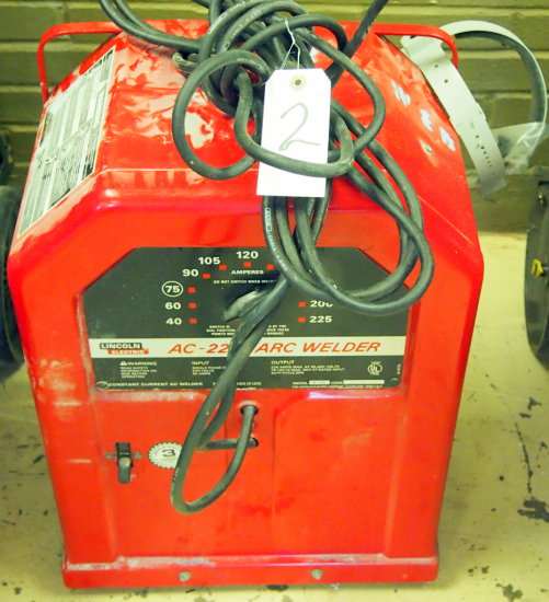 Lincoln Ac-225 arc welder