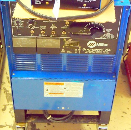 Miller Syncowave 250 tig welder
