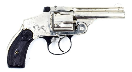 S&W .38 Safety Hammerless, 4th Model .38 S&W